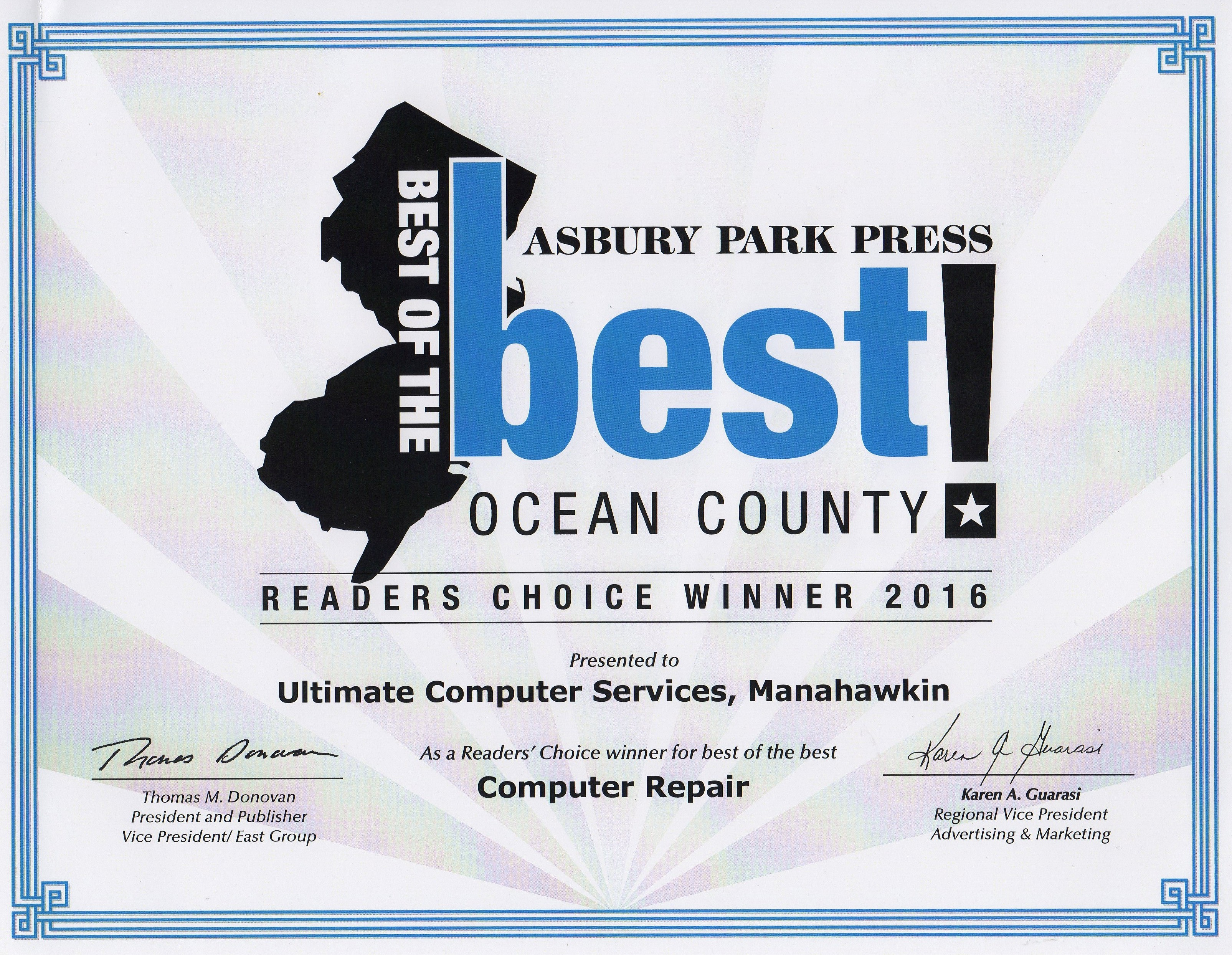 Ultimate Computer Services Ocean County Computer Repair